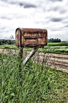 Country Mailbox Digital Art