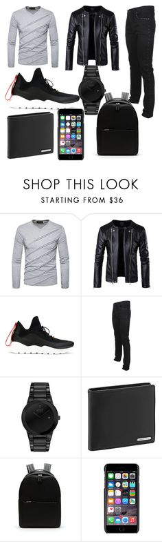 """""""Bad Boys - Halloween Costume (Created By Me)"""" by fallin-angel ❤ liked on Polyvore featuring Fendi, Versace, Citizen, Porsche Design, Lacoste, Dolce&Gabbana, men's fashion, menswear and lovelyboys"""