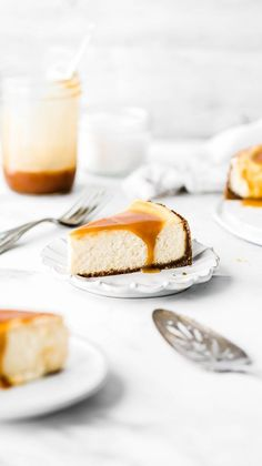 This salted caramel cheesecake is seriously the best cheesecake recipe ever. It's silky smooth, extra creamy, and covered in a delicious homemade salted caramel. You definitely need to make this! Salted Caramel Cheesecake, Best Cheesecake, Cheesecake Recipes, Dessert Recipes, Turtle Cheesecake, Cheesecake Cups, Strawberry Cheesecake, Chocolate Cheesecake, Pumpkin Cheesecake