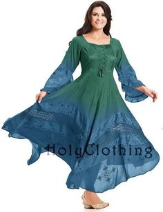 Holy Clothing gradient dyed dress    Love all there clothing and its really well priced