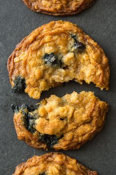 Blueberry and Cardamom Oat Cookies  - gotta give these a test dirve!  We're in the middle of a blueberry glut and I need MORE recipes!!  Plus they have CARDAMOM in them!!!