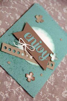 JV Papercrafts: mini treat bag thinlits stampin up, mini leckereientüte