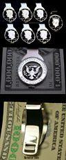 Money Clips 60120: Mens Money Clip Cut Coin Jfk Kennedy Silver Half Dollar Man Birthday Anniversary -> BUY IT NOW ONLY: $129.5 on eBay!