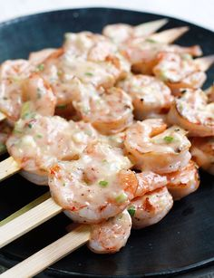 Bangin Grilled Shrimp Skewers from the 50 Amazing Weight Watchers Recipe site