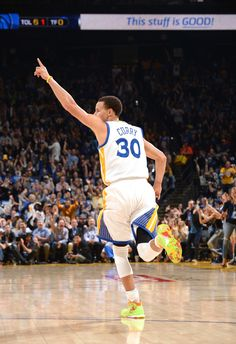 Stephen Curry. Those shoes though!!!