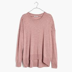 Excursion Pullover Sweater color: heather blossom or heather steel size: extra small
