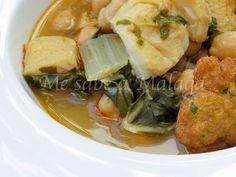 El potaje de bacalao y acelgas con tortillitas es uno de los platos más típicos malagueños que solemos preparar en Semana Santa. Tambié...