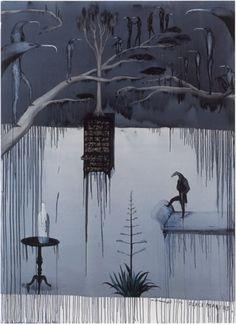 W D (Bill) Hammond » nz-artists Painter Artist, Artist Painting, Painting & Drawing, New Zealand Art, Nz Art, Maori Art, Best Artist, Light In The Dark, Poster Prints