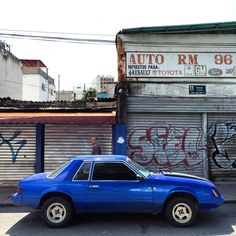 Foxy Lady #ford #mustang #foxmustang #fox #musclecar #americanmuscle #morninautos #soloparking #chivera #chacao (at Caracas, Venezuela)