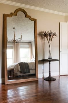 1000 images about floor mirrors on pinterest large for Standing mirror in living room
