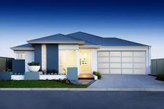 The Belvoir display home Hilbert, Perth. Facade