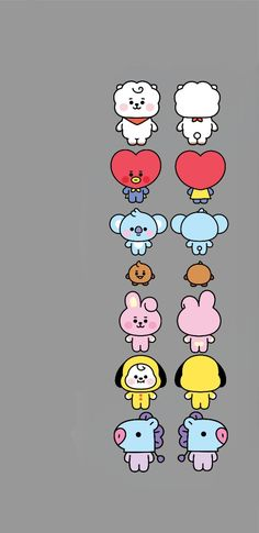 Cartoon Wallpaper Iphone, Iphone Wallpaper Tumblr Aesthetic, Cute Disney Wallpaper, Kawaii Wallpaper, Cute Cartoon Wallpapers, Army Wallpaper, Bear Wallpaper, Bts Beautiful, Whatsapp Wallpaper