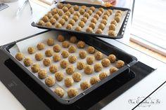 Na Cozinha da Té: Bolinhas de grão, aveia e atum  Na nossa alimentaç...