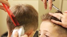 Corte de cabello para niños