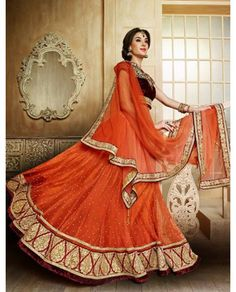 Eye Catching designer lehenga choli-6620