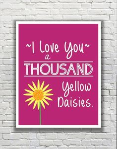 Gilmore Girls Quote Typography Print I Love You a by FanFaires