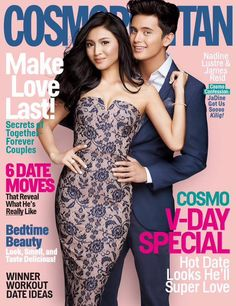 Like or Dislike: Nadine Lustre and James Reid for Cosmopolitan (Pinoy Fashion PULIS! Teenage Couples, Cute Couples, Filipino Models, Love Confessions, Fashion Magazine Cover, Magazine Covers, James Reid, Nadine Lustre, How To Be Likeable