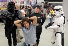 Didn't you know, Justin Trudeau got caught as a member of the Rebel Alliance by the Galactic Empire back in 2012 at Montreal Comic Con? Justin Trudeau, Trudeau Canada, Justin Time, Mandalorian Cosplay, Best Of 9gag, Nerd Problems, Rebel Alliance, Geek Humor, Lady And Gentlemen