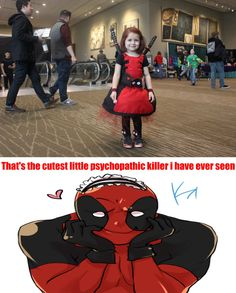 Deadpool Approves This ''awww''