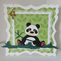 Marianne Design Cards, Animal Cards, Christmas Gift Tags, Kids Cards, Cute Cards, Creative Cards, Panda Bear, Craft Stores, I Card