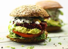 Rote Bete-Quinoa Burger