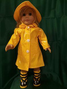 Rain, Rain, Go Away by DollsDamselsandDames on Etsy