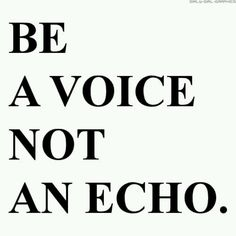 """Don't expect anything original from an echo.  """"RN""""  lol"""