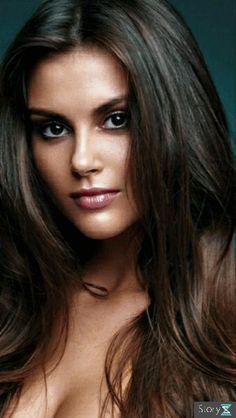 Most Beautiful Faces, Beautiful Eyes, Gorgeous Women, Gorgeous Lady, Girl Face, Woman Face, Brunette Beauty, Hair Beauty, Dark Hair