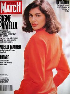 Paris match n° 2084 liban beyrouth guerre pamella borders khashoggi 1989