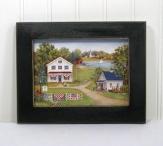 Hey, I found this really awesome Etsy listing at https://www.etsy.com/listing/111288040/5x7-framed-print-country-primitive