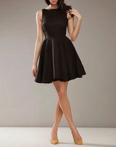 Bazarchic - Robe courte evasee noire