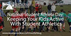 Keeping Your Kids Active with Student Athletics #FitFamily -- Resurgens Spine Center Blog