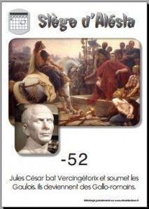 16 Défaite de Vercingétorix à Alésia