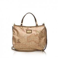 1e934f1ef54eb ALVIERO MARTINI PRIMA CLASSE BAG Large Geo Metallic Underarm Bag