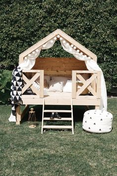 Luxury Play House Beach Bungalow Outdoor Playhouse Unique Furniture Kids Outdoor Furniture Small Home Montessori Bed Tiny House Luxury Play House Beach Bungalow Outdoor Playhouse Unique Furniture Kids Outdoor Furniture Small Home Montessori Kids Outdoor Furniture, Diy Garden Furniture, Unique Furniture, Kids Furniture, Rustic Furniture, Bedroom Furniture, Furniture Stores, Furniture Market, Furniture Design