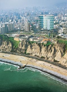 Peru. Lima from the air - Explore the World with Travel Nerd Nici, one Country at a Time. http://TravelNerdNici.com