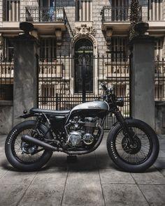 Honda CB550 Bratstyle by Jerikan Motorcycles