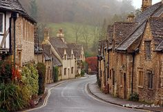 Castle Combe, Wiltshire, England  The question is not whether we're going here...the question is whether Joe will be able to get me to leave!