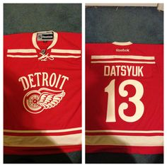 524307d4b Pavel Datsyuk 2014 Winter Classic Detroit Red Wings Jersey  13