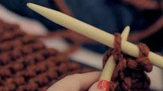 como fazer trico para iniciantes - YouTube