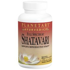 Planetary Herbals, Shatavari, Full Spectrum, 500 mg, 120 Tablets