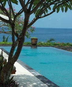 Poolside at Villa Asada.  Bali,  Indonesia. http://www.beyondvillas.com