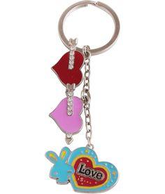 Jlt Metal Valentine Special Arrow And Bunny Hearts Keychain Valentine Special, Key Chains, Arrow, Bunny, Hearts, Personalized Items, Metal, Key Rings, Key Pendant