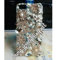 3d Swarovski crystal handmade case $48.99