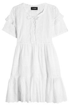 New The Kooples Embroidered Cotton Dress fashion online. [$132]?@shop.sladress<<