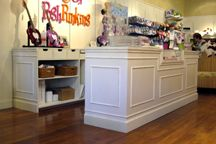 Interior Decorations - Retail Store - Shabby Chic - Display Fixtures Counters 1