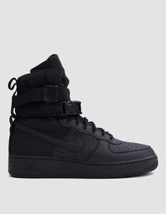 wholesale dealer e0231 87f8f Nike SF Air Force 1 in Black/Black Black Nike Shoes, Black Nikes,