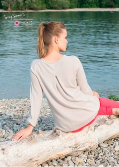 6151-1004 FS the perfect basic, a stylish pullover the perfect match 100%cashmere #musthave #basics #cashmere