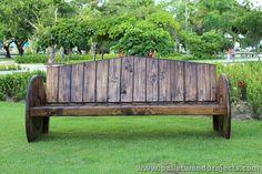 Pallet Patio Bench