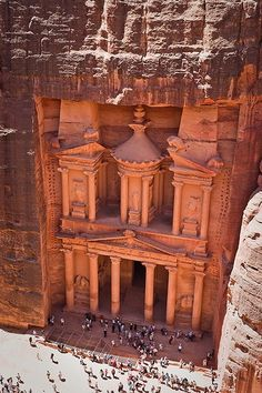 When in Israel, be sure to cross into Jordan for a day trip to Petra. The walk to it is amazing.